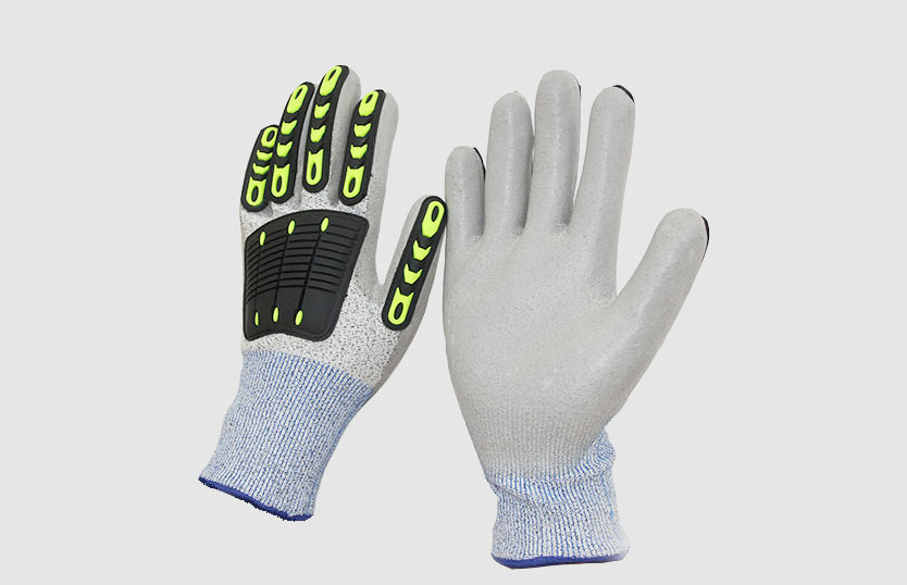 Anti Cut Gloves With PU Coating