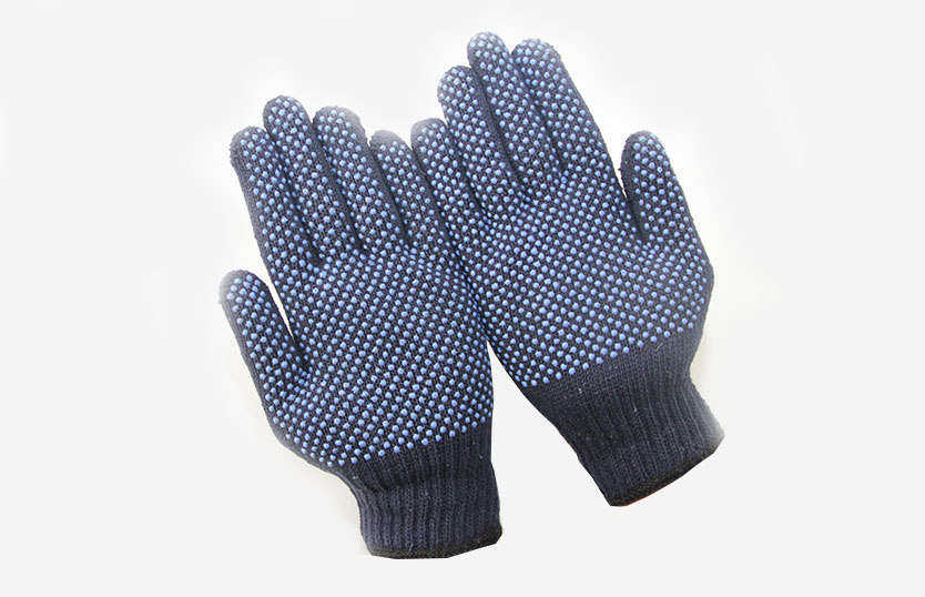 PVC Dotted Gloves – Double Side